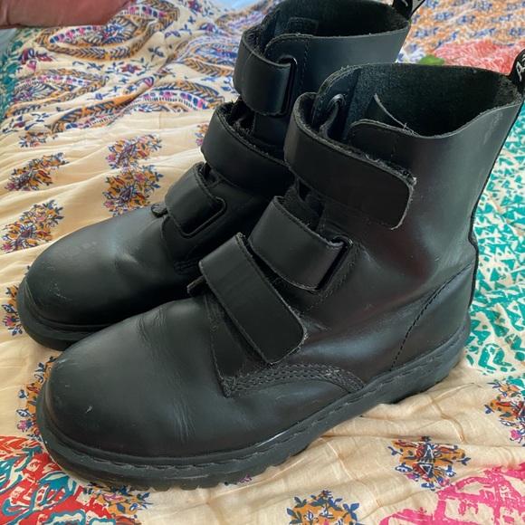 Doc Martens Coralia Velcro Strap Boots